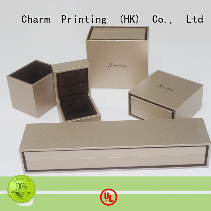 CharmPrinting with tray jewelry packaging high-quality for luxury box