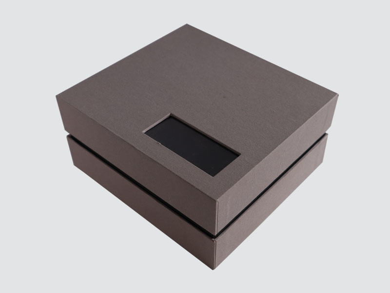 Custom Apparel Packaging Lid And Base Gift Box-1