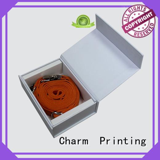 CharmPrinting packaging box handmade gift
