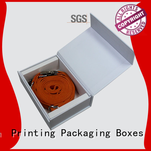 Charm Printing gift box with magnet for pet products