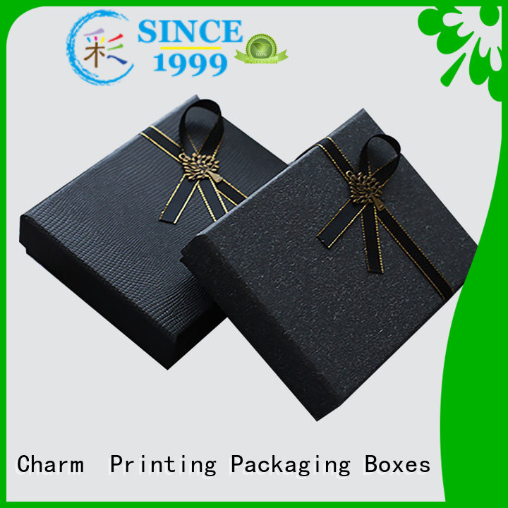 CharmPrinting clothing packaging boxes white paperboard for clothes