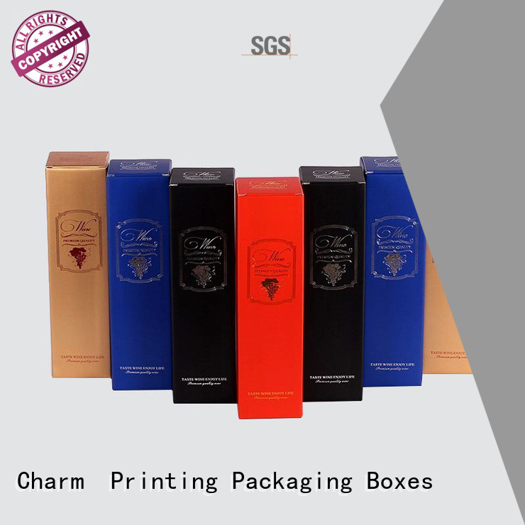 personalized wine gift box manufacturer food packaging