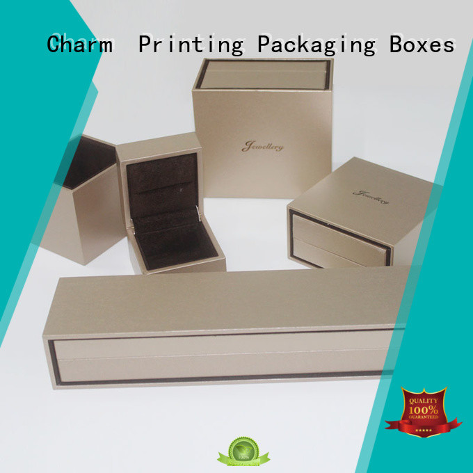 CharmPrinting book shape jewelry gift boxes high-quality for luxury box