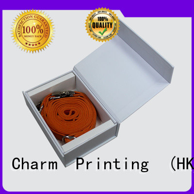 Charm Printing gift box with magnet jewelry