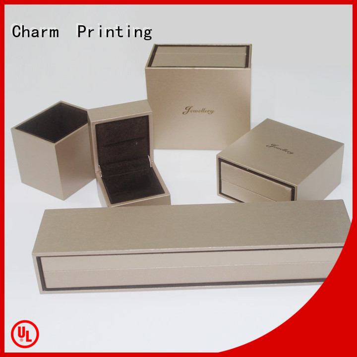 Charm Printing book shape jewelry box factory price for gift box