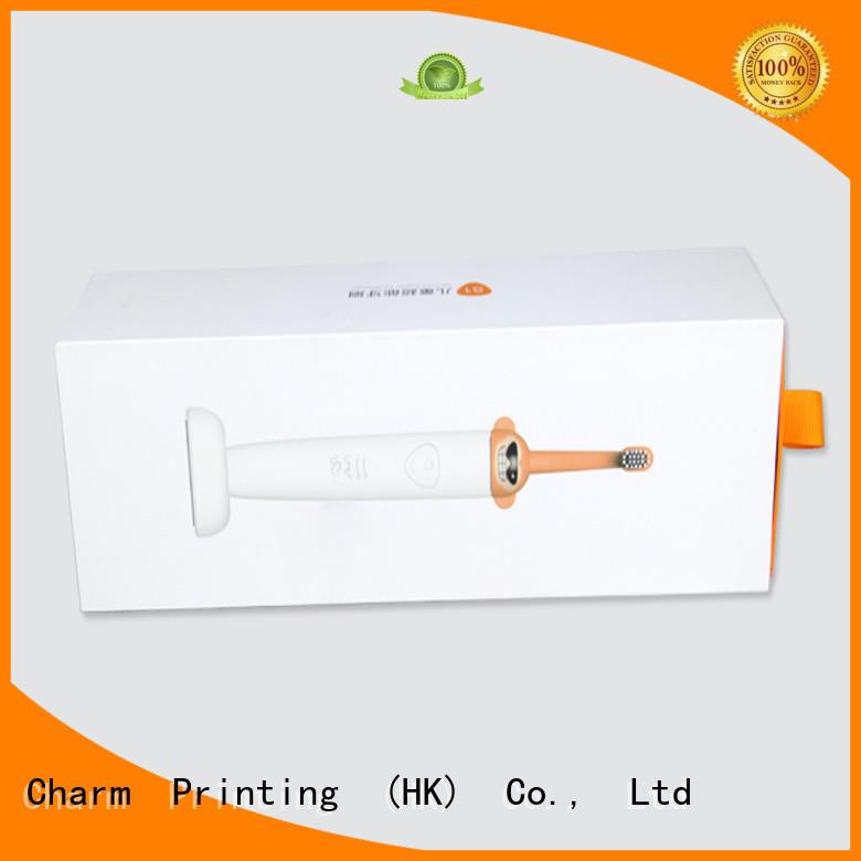 Drawer Type Custom Gift Packaging Cardboard Box for Toothbrush