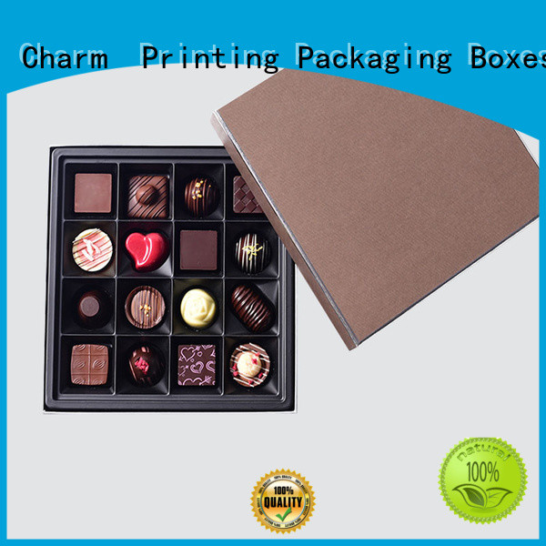 Charm Printing chocolate packaging thick luxury box
