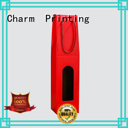 CharmPrinting wine gift box manufacturer Wine packaging