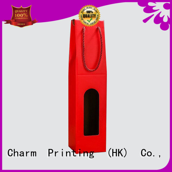 personalized wine packaging box handmade alcohol packaging