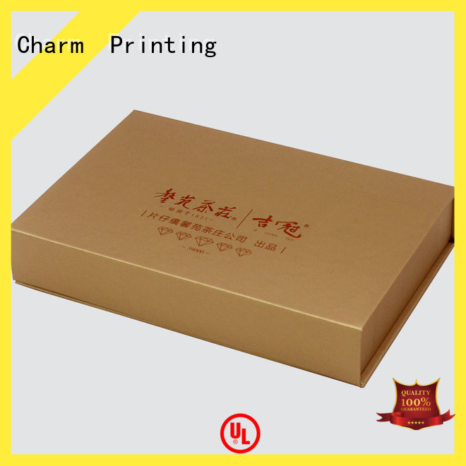 CharmPrinting with tray pillow box handmade for gift