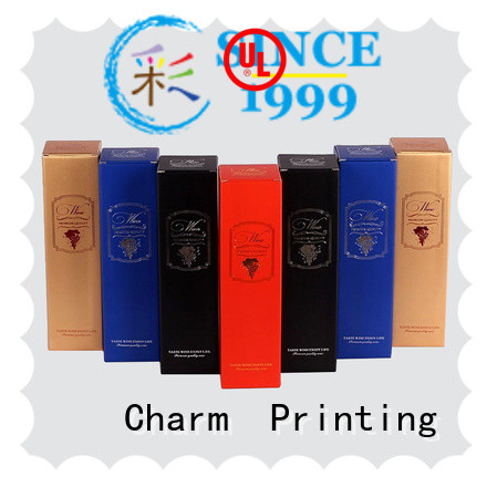 Corrugated wine paper box manufacturer food packaging