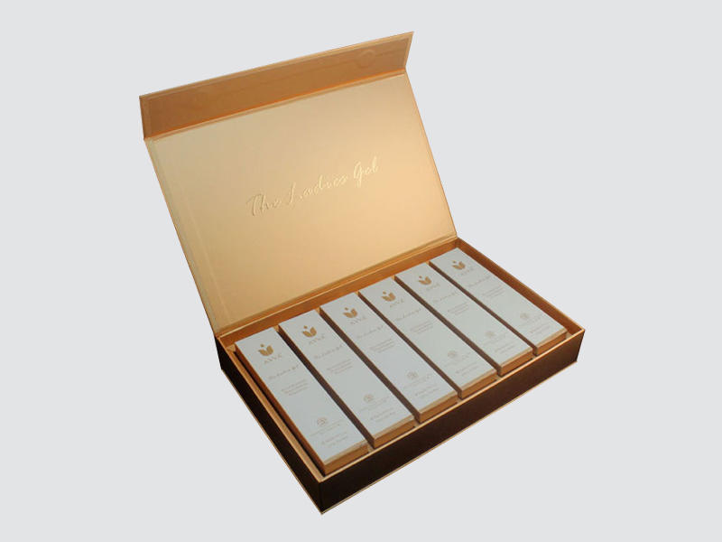 Book Type Gift Box for Cosmetic packaging-1