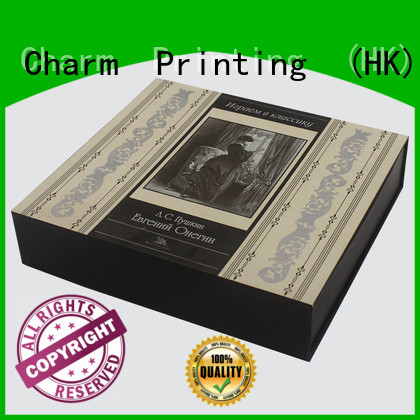 Charm Printing cosmetic packaging box uv printing gift package