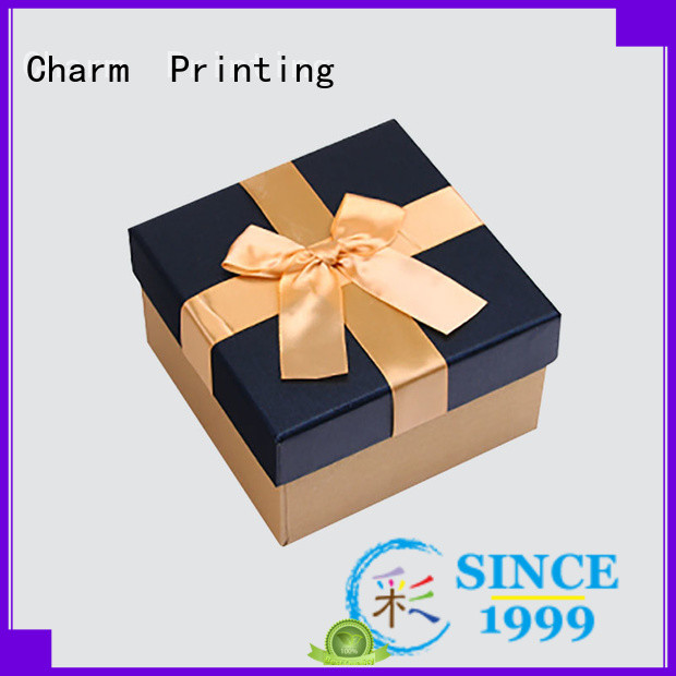 Charm Printing silk printing candle packaging box on-sale