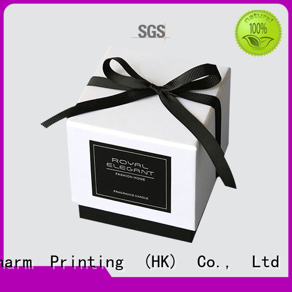 luxury candle box Gift Charm Printing