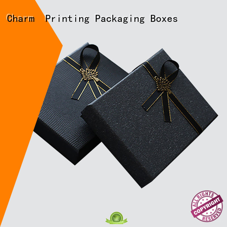 fashion design clothing packaging boxes white paperboard for gift