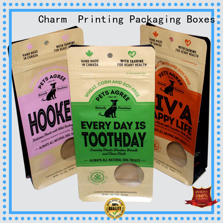 Charm Printing folding packaging box supplier for pet products