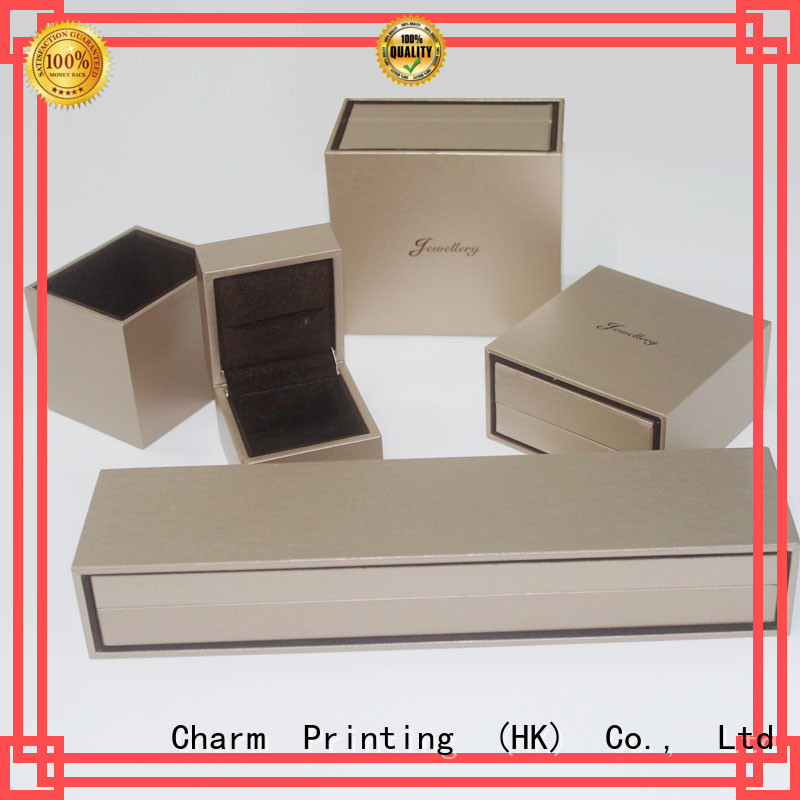 CharmPrinting book shape jewelry packaging luxury design for jewelry packaging