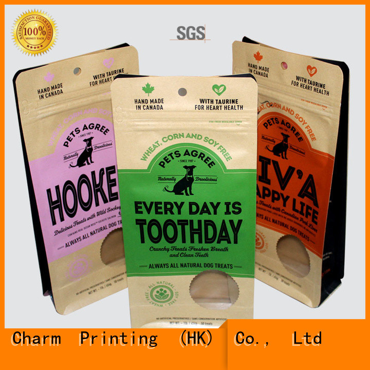 Charm Printing personalized pet food bag Gift
