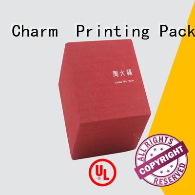 Custom jewelry gift box