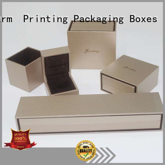 Charm Printing jewelry gift boxes luxury design for luxury box