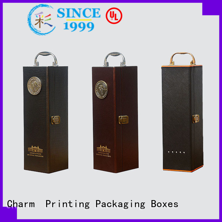 corrugated wine packaging box luxury design alcohol packaging