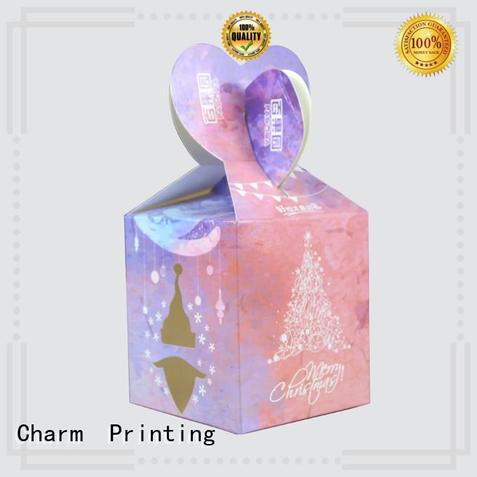 CharmPrinting custom gift packaging for wholesale for gift