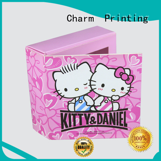 Charm Printing custom lid luxury chocolate gift box luxury box