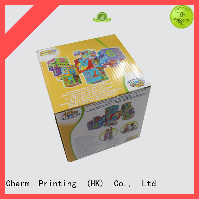 Custom Cartoon Corrugated Box For Toy Packaging