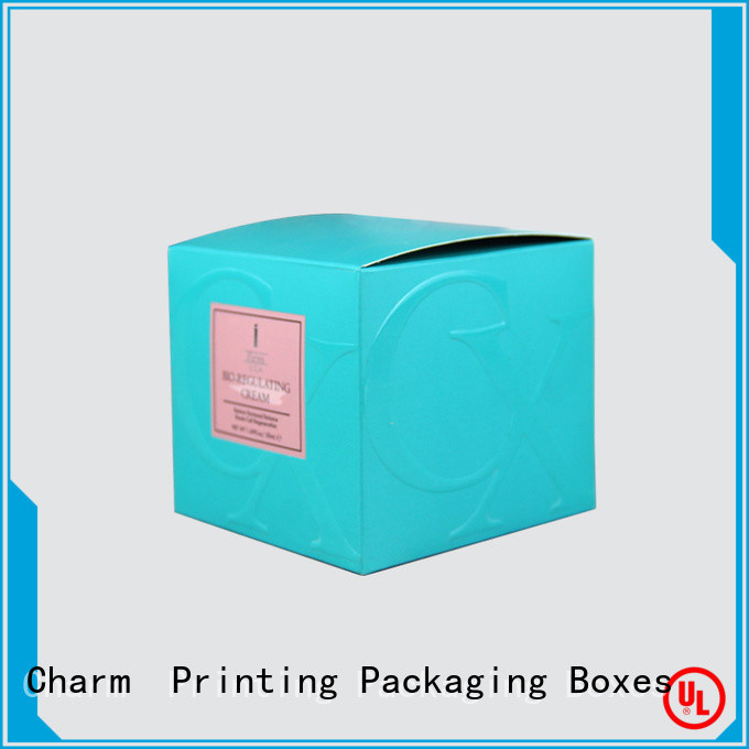 Charm Printing coloful cosmetic box offset printing gift package
