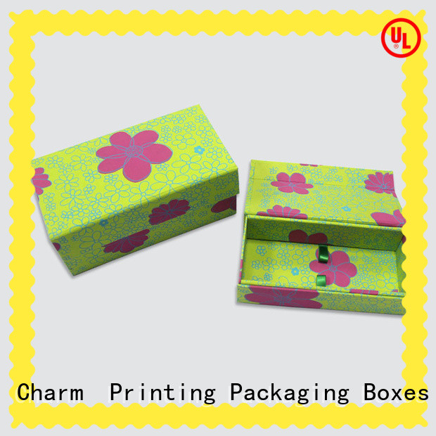 Charm Printing custom packaging boxes factory price for gifts