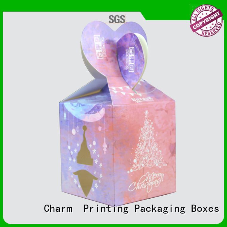 CharmPrinting custom wedding packaging bulk production for luxury box