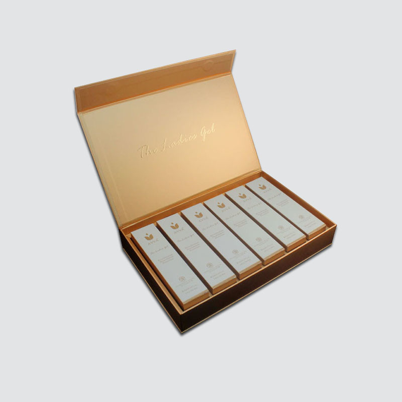 Book Type Gift Box for Cosmetic packaging