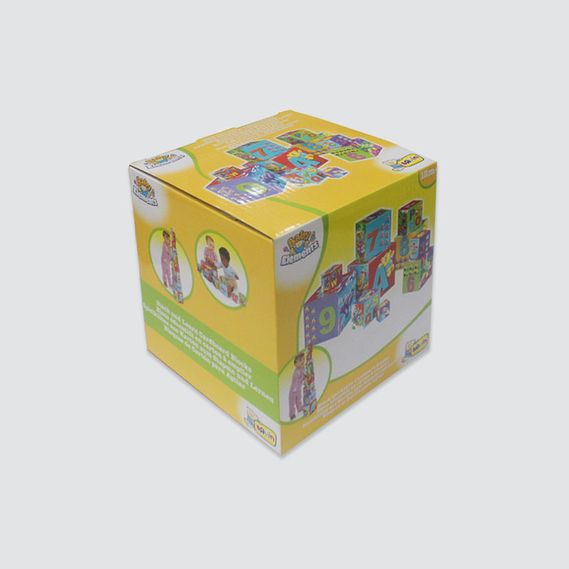 Charm Printing fashion design toy packaging boxes Gift packaging