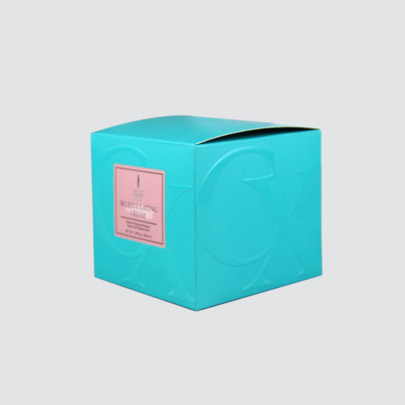 Special Colorful Card Cosmetics Gift  Box