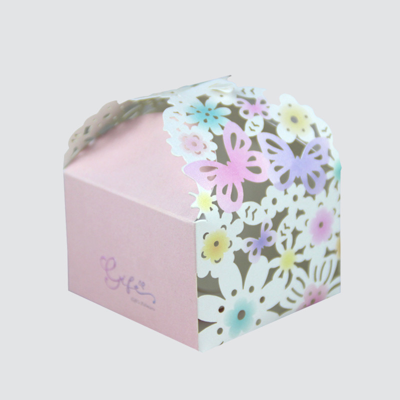 Custom Creative Gift Packaging Box With Laser Hollow Pattern