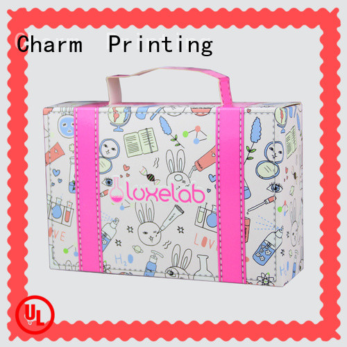 CharmPrinting cosmetic packaging offset printing gift package