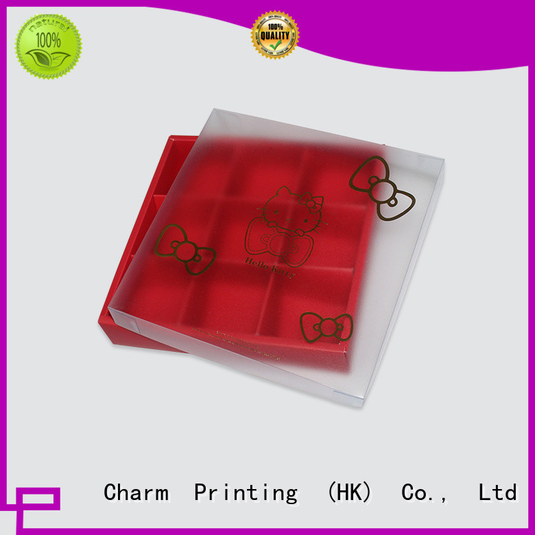 CharmPrinting book shape chocolate packaging foil stamping gift box