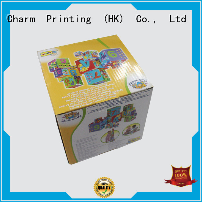 CharmPrinting fashion design toy packaging buy now toys packaging
