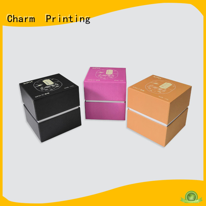 CharmPrinting luxury type paper gift box bulk production dental products