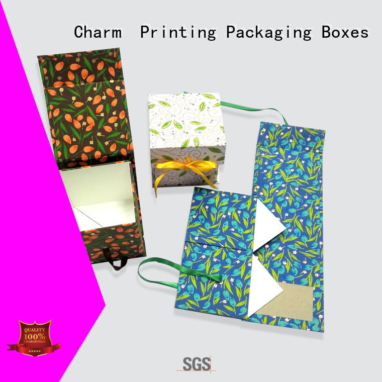 Charm Printing magnet gift box magnet gift box factory price for festival packaging