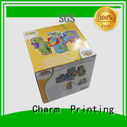 CharmPrinting toy packaging get quote corrugated Box