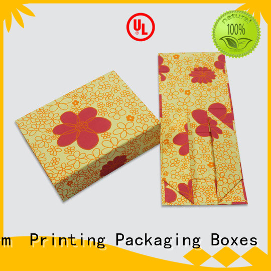 Custom Design Paper Folding gift box packaging