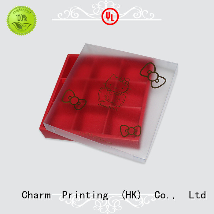 Charm Printing luxury chocolate box thick luxury box