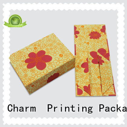 CharmPrinting book shape type gift box OEM for gifts