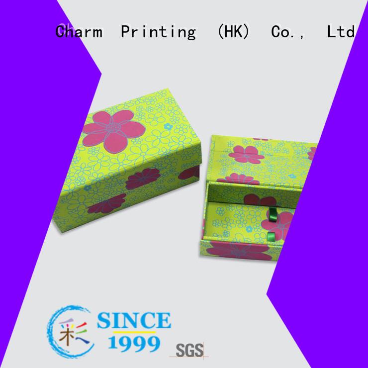 CharmPrinting magnet gift box OEM for festival packaging