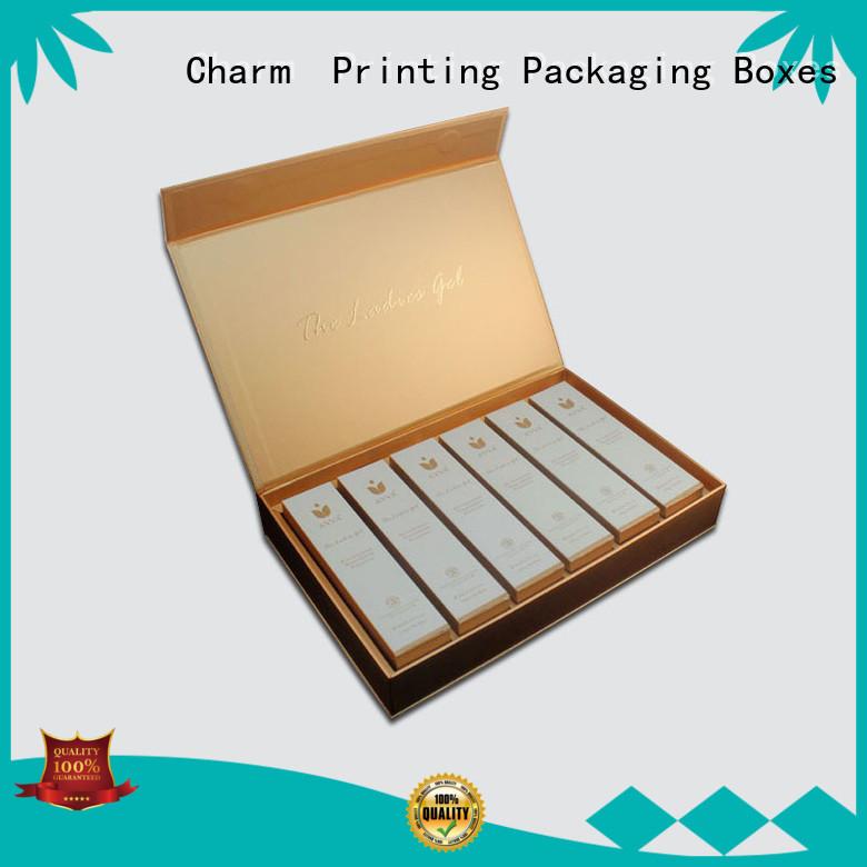 CharmPrinting cosmetic packaging box offset printing storage