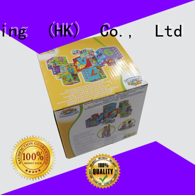 CharmPrinting fashion design toy packaging buy now corrugated Box