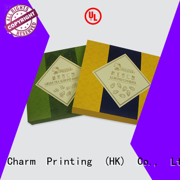 CharmPrinting gift box factory price for food packaging