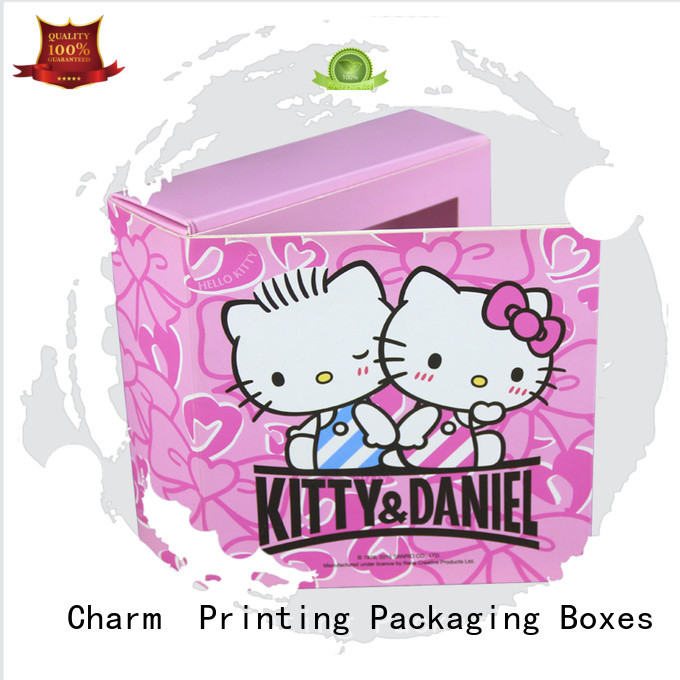 Thick Cute Chocolate Card Box For Food Packaging With Logo Printing